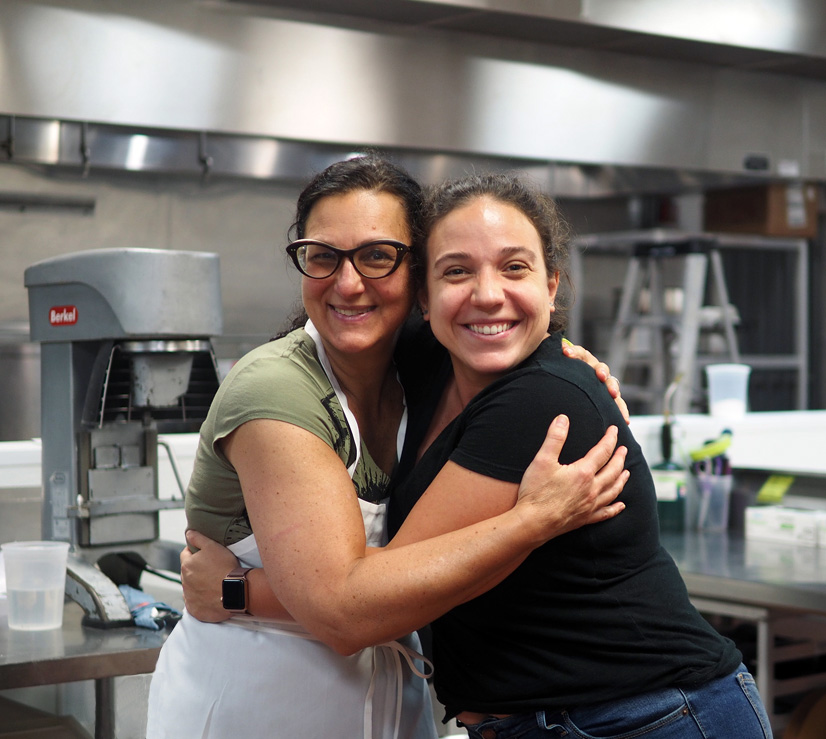 Chef MJ and me. I adore her!