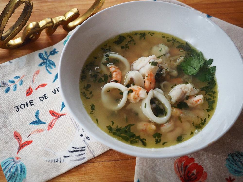 Fish Bean Soup 2 Stir With Love