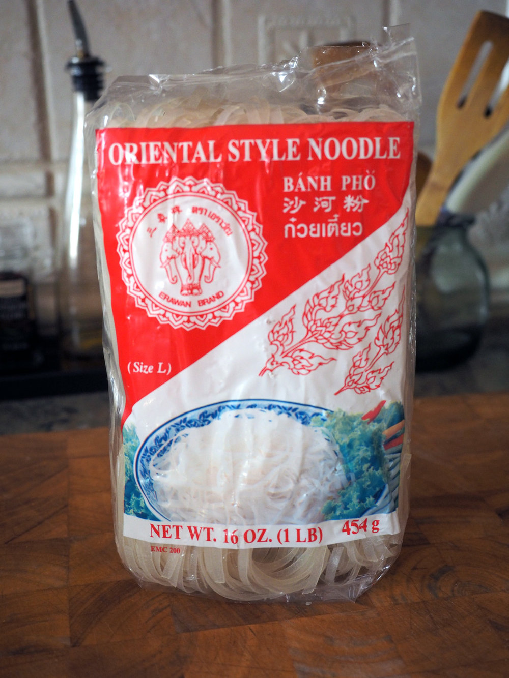 The rice noodles I just had to grab. I love me some noodles.