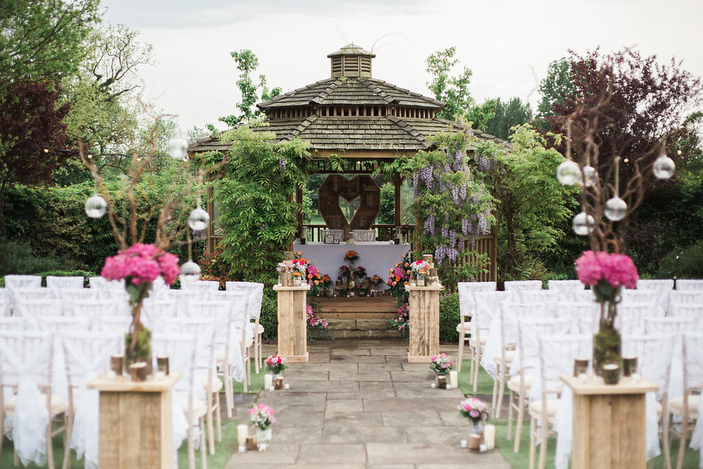 The Pryors Wedding Garden