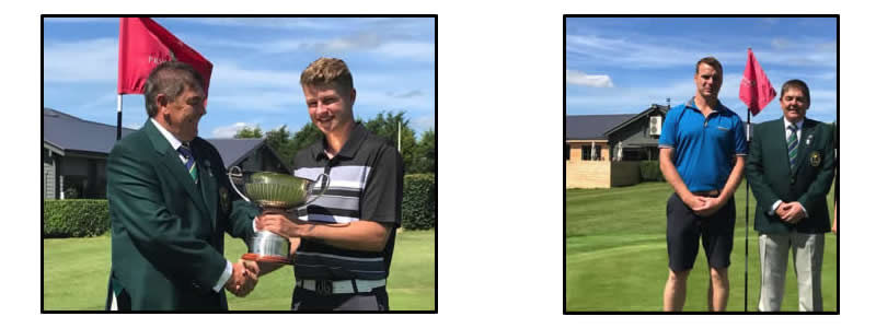 Jack Craven and Rick Smith, gross and net Club Champions respectively.
