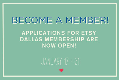 etsy dallas member applications