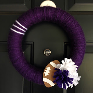 football craft wreath