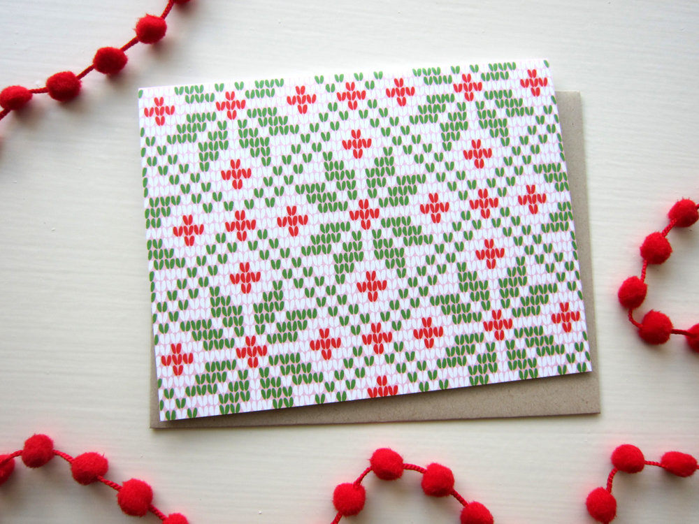 tokodots holiday card