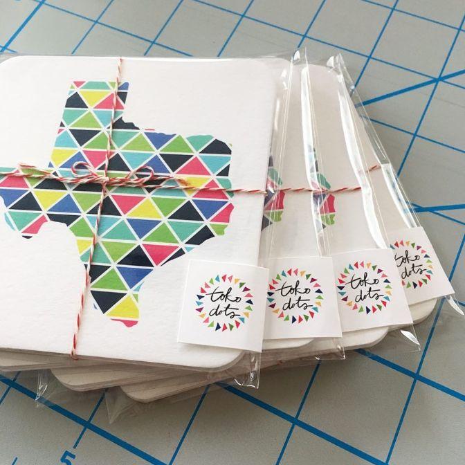 Tokodots coasters.jpg
