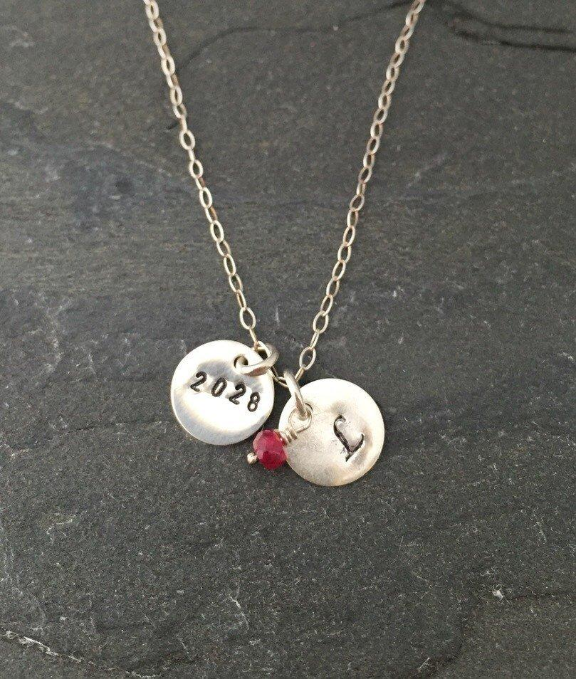 These personalized graduation necklaces from  Kathleen Care  are lovely gifts for grads, moms and college students looking forward to wrapping up their studies.