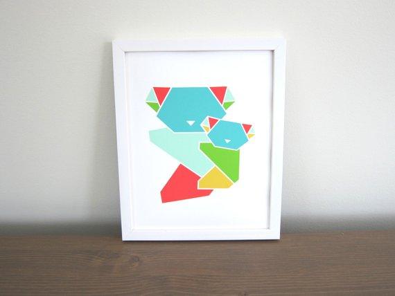 Origami koalas by tokodots