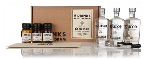 Uisge Source Single Malt Scotch Whisky Gift Set