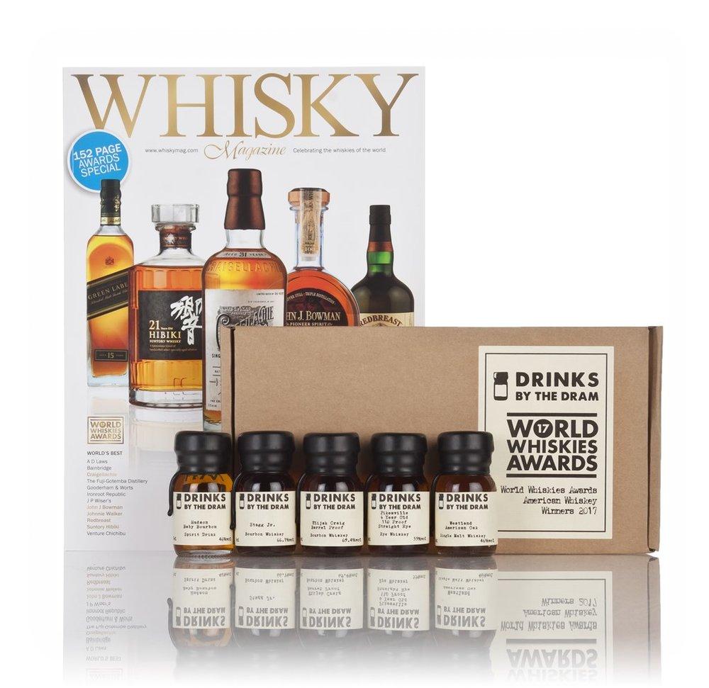 World Whiskies Awards 2017 American Whiskey Winners
