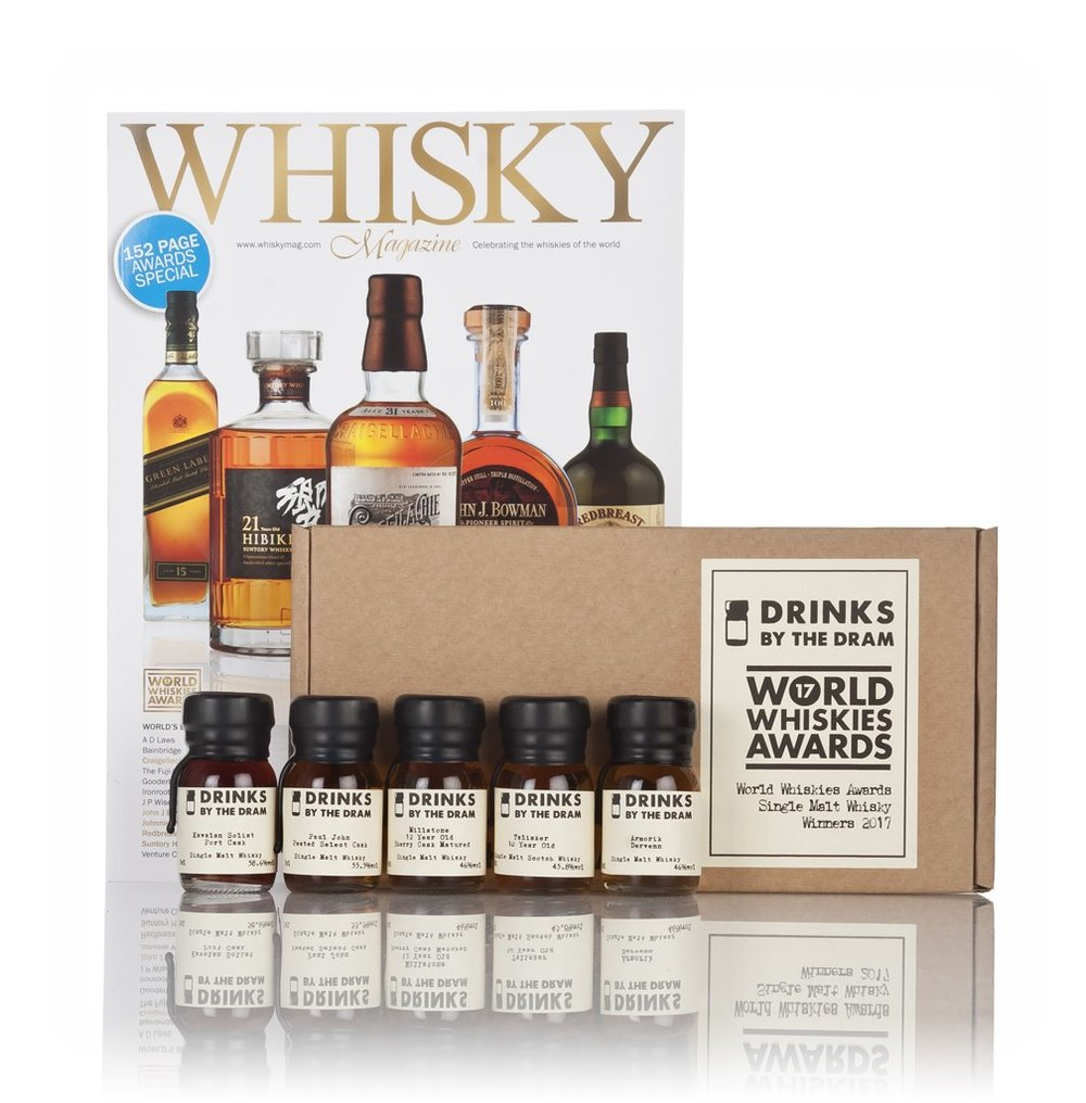 World Whiskies Awards 2017 Single Malt Whiskies Winners