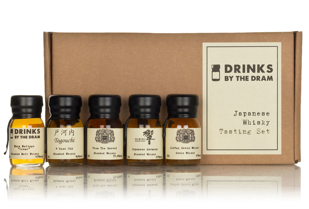 tasting sets drinks by the dram