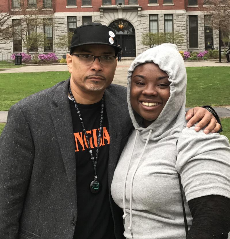 Tai-lor and Carlos discuss the night her father died after a run-in with police, and the lingering effects of her loss - of her traumatic experience. Tai-lor Ratcliff is a graduate of the Community Journalism collaboration between UMass Journalism and Springfield's High School of Commerce