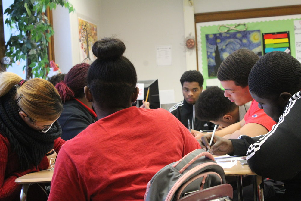 Springfield's Poet Society  - Students at the high school of Commerce work in a poetry group to tell stories not just for each other, but for themselves