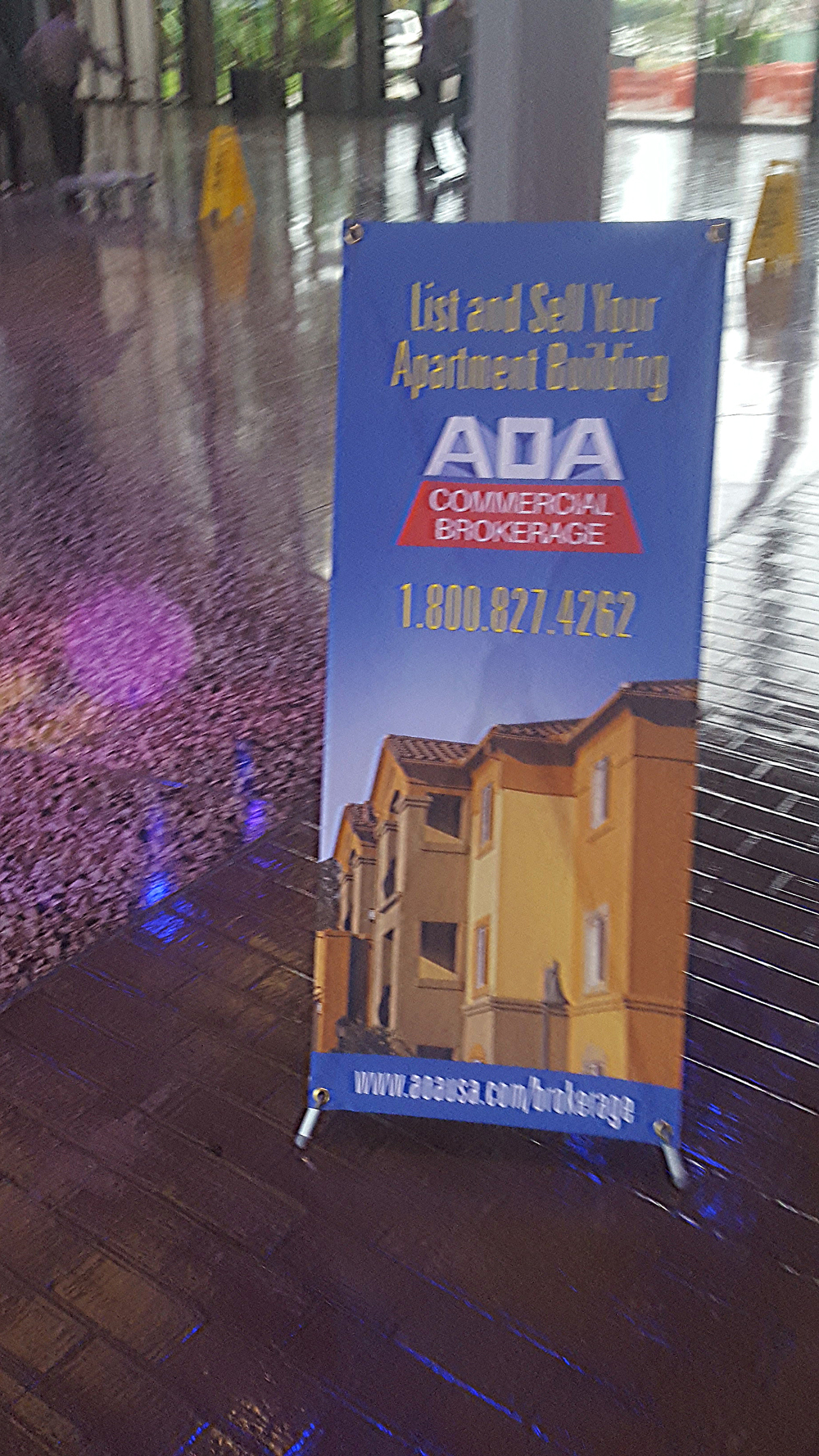 Apartment Owners Association Trade Show Entrance 2