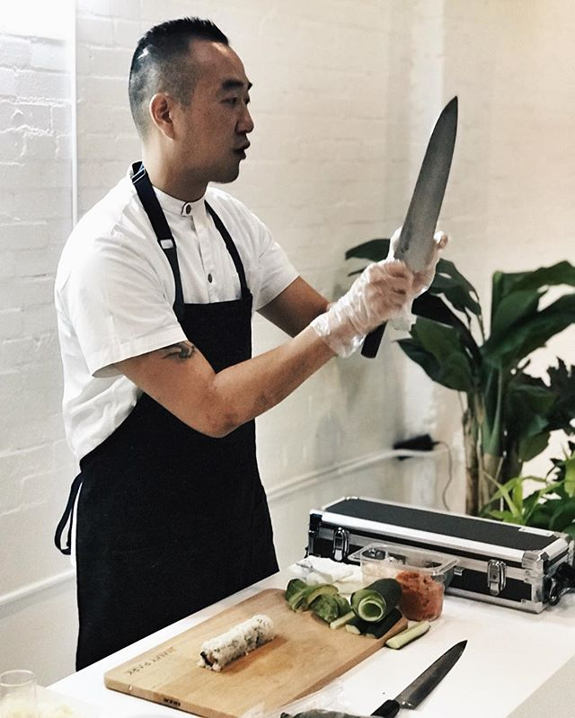 elevate (your knife skills) | @chefjimmypark #sitwithyoursisters