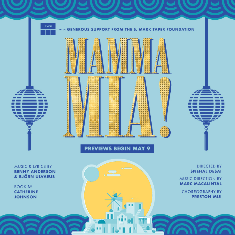 Grace Yoo is SOPHIE in East West Players' production of MAMMA MIA!