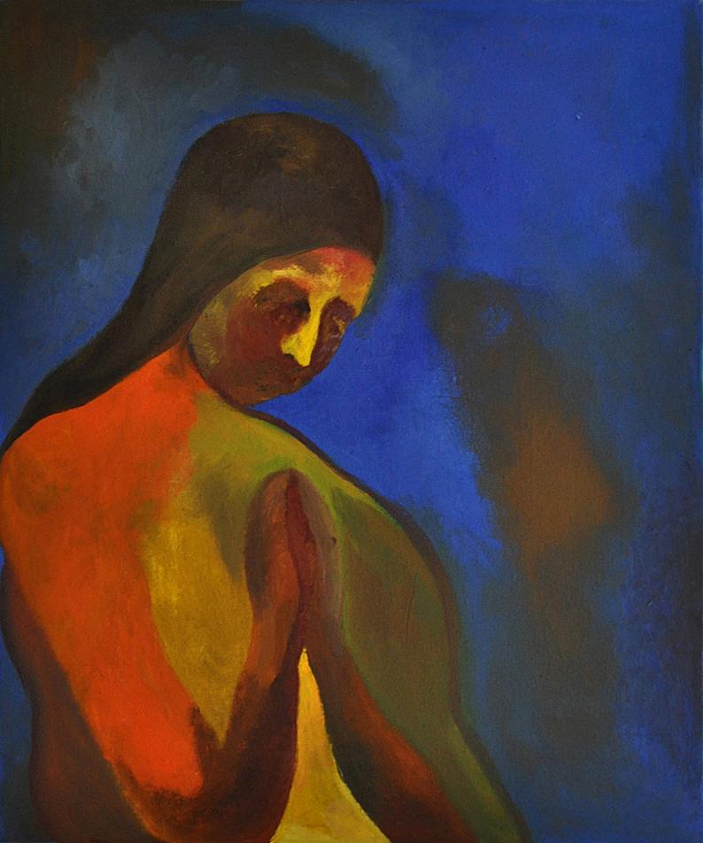 """Faith , 36""""x28"""", Oil on Canvas, 2008"""