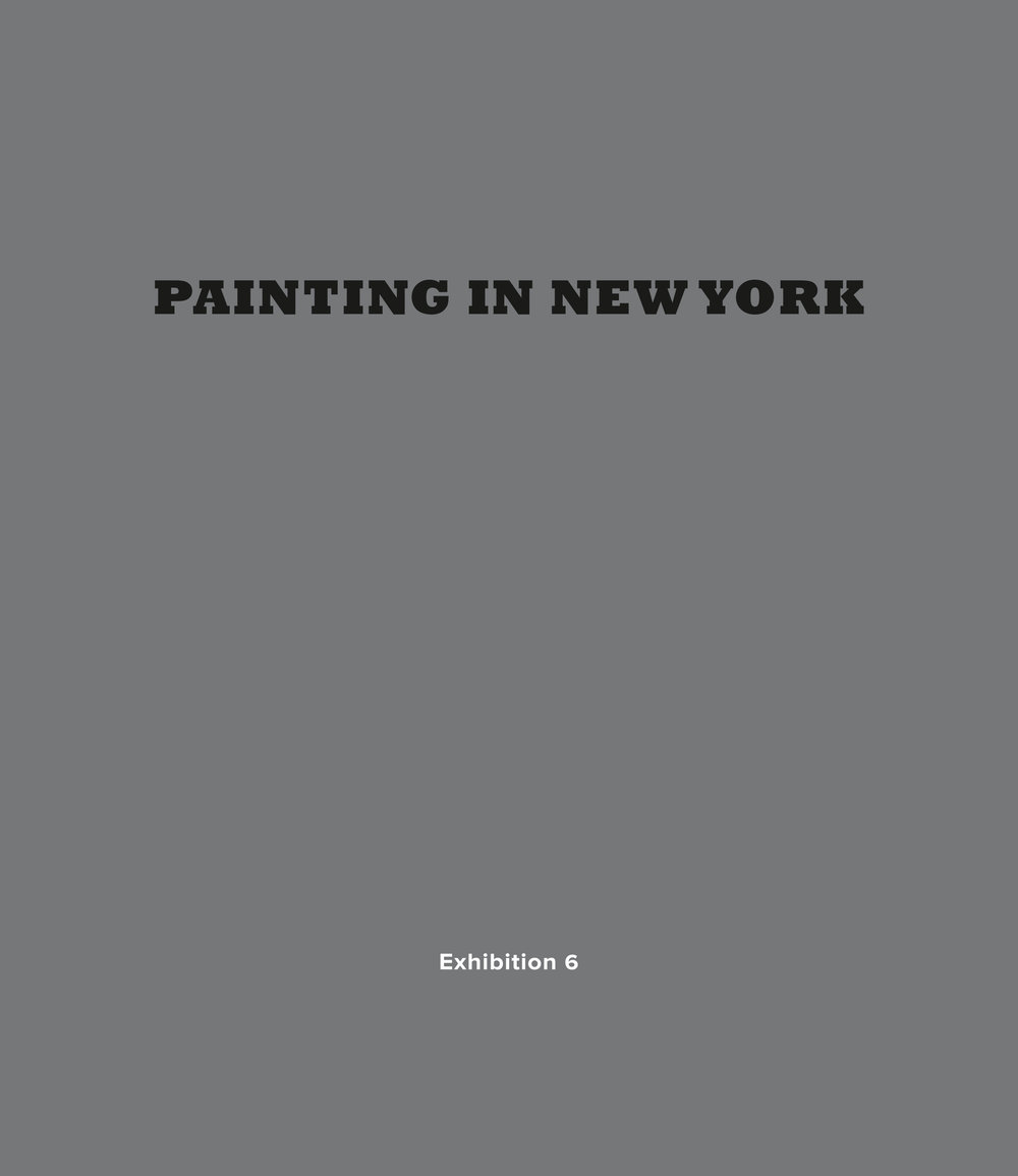 Painting in New York - at Leigh Morse gallery, NYC, 2017