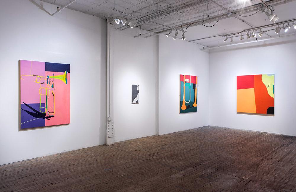 Breathing  Slag Gallery, Brooklyn February - March 2017