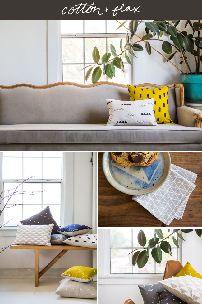 Spruce Rd | Cotton & Flax Inspiration