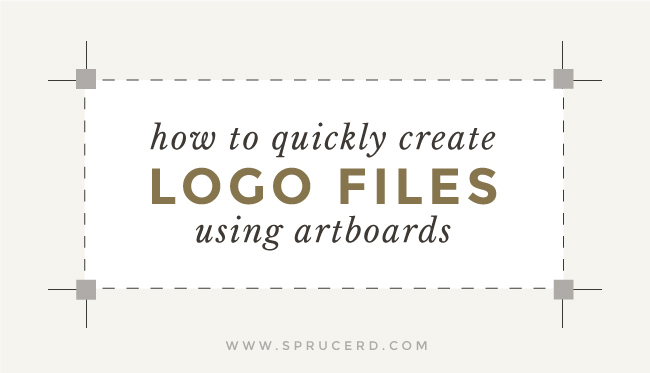 Spruce Rd. | Quicktip: How to quickly create logo files