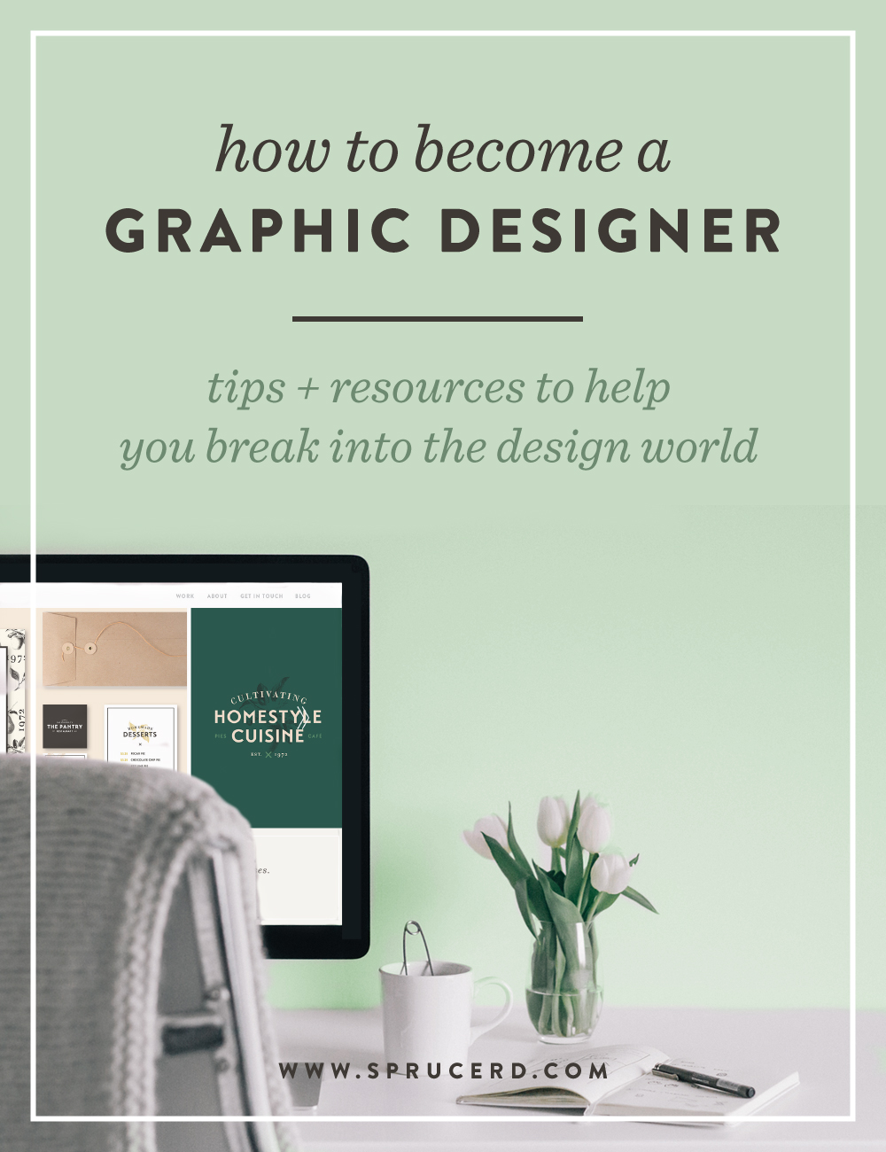 How to become a graphic designer | Spruce Rd. #designresource #graphicdesign #learn #freelance