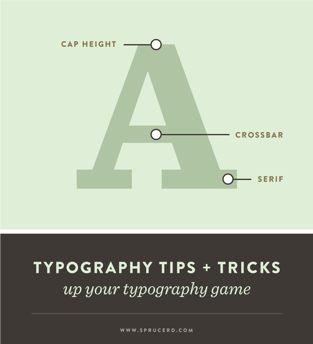 Typography Tips + Tricks | Spruce Rd. #designresource #typography