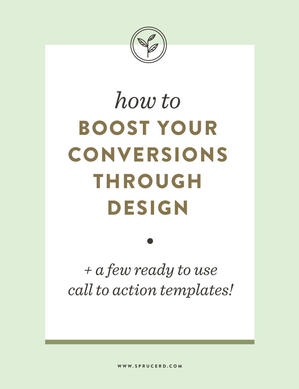How to boost your conversions through design || You've done the work, but are just lacking the high conversion rate. Chances are, a few design tricks can help boost your conversions, and gain more sales. Here are a few tips that you can adjust today!