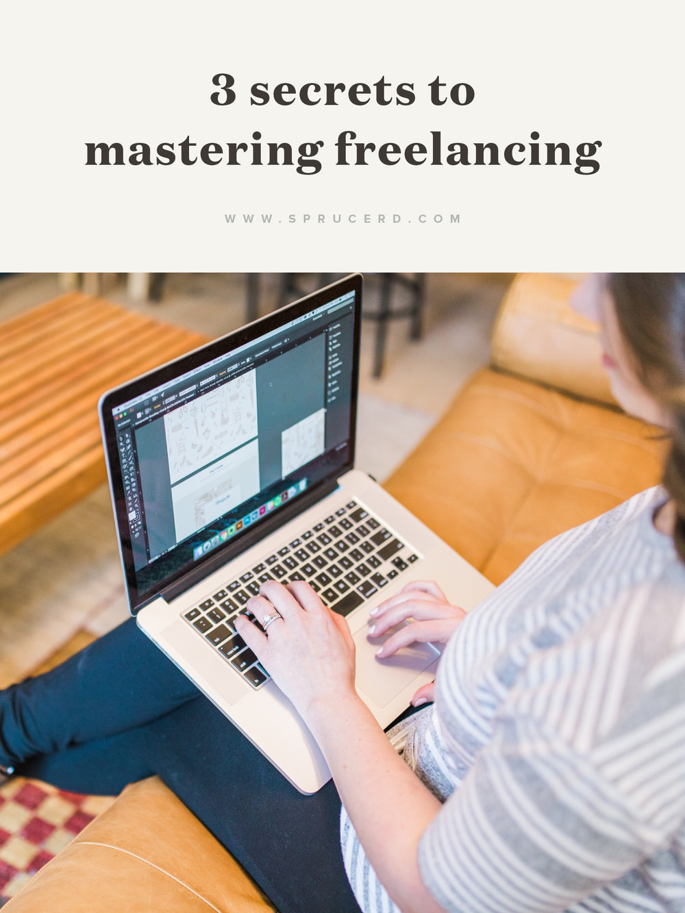 "3 Secrets to mastering Freelancing | There's a lot of mystery out there about starting a freelance business. How do you book clients? What's the process? How do you get your clients to say ""yes"" to your design proofs? I'm demystifying the process, and sharing 3 secrets that have shaped my freelance business."