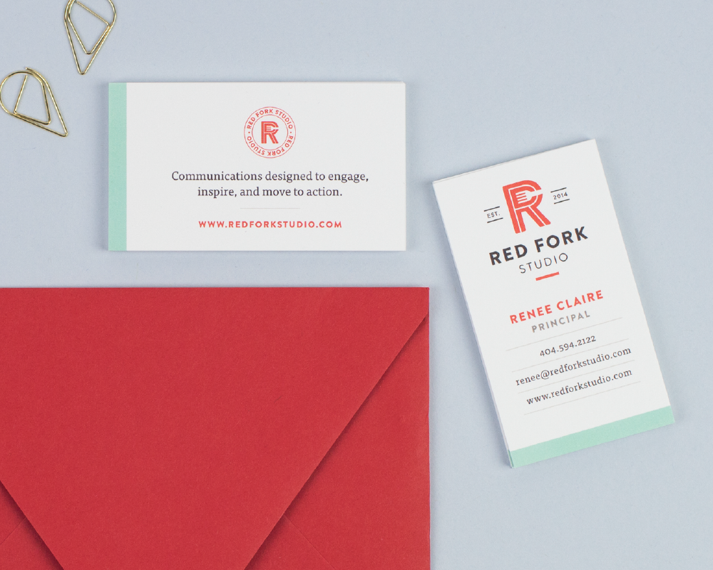 Red Fork Studio Brand identity, stationery View project