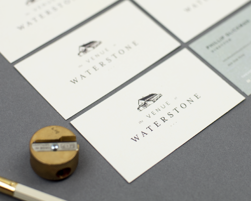 The Venue at Waterstone Branding, icon design, pricing sheet, stationery View project
