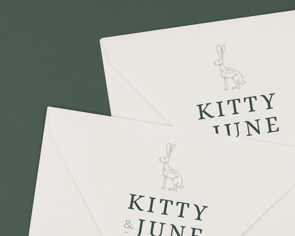 Kitty & June    Branding, Packaging, Illustration, Stationery    View project