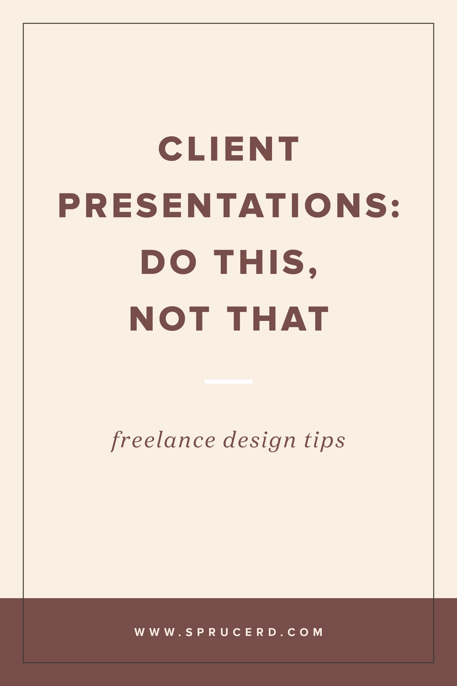 To create a winning client branding presentation, there's a few tips to follow. I've got a fun do this, not that series that shows how to get zero revisions from client proofs! Head to the blog to check out if you're doing these in your client presentation process. #freelance #designer #graphicdesign #branding