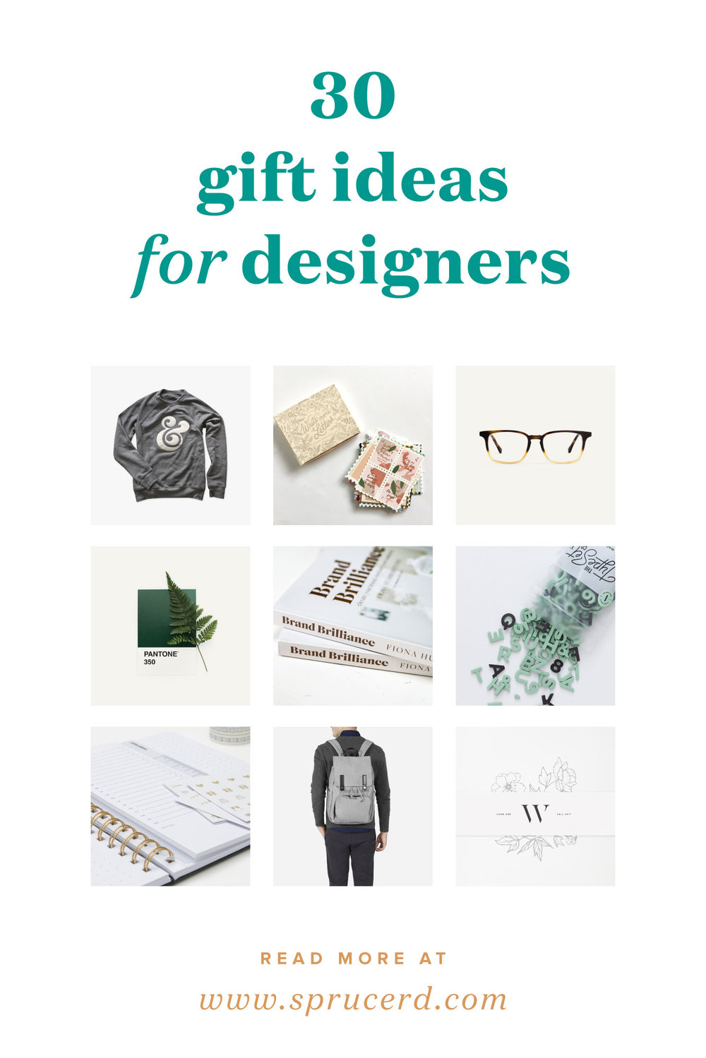30 gift ideas for graphic designers — Christmas gifts, fonts, tools, freelance resources, etc. | Spruce Rd.