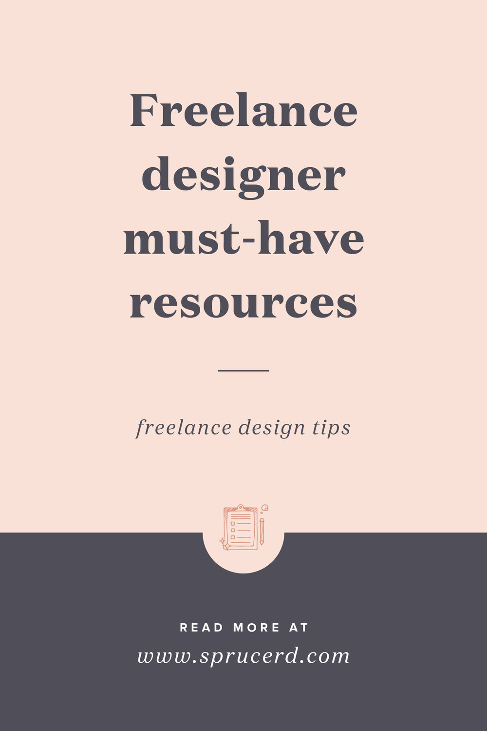 Freelance Designer Resources | Spruce Rd. | A roundup of tools, software and designer must-haves for running a freelance business.
