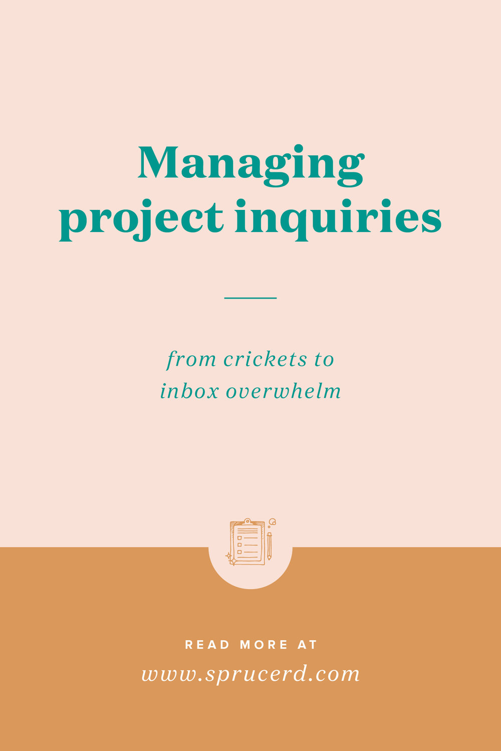 """Managing project inquiries 
