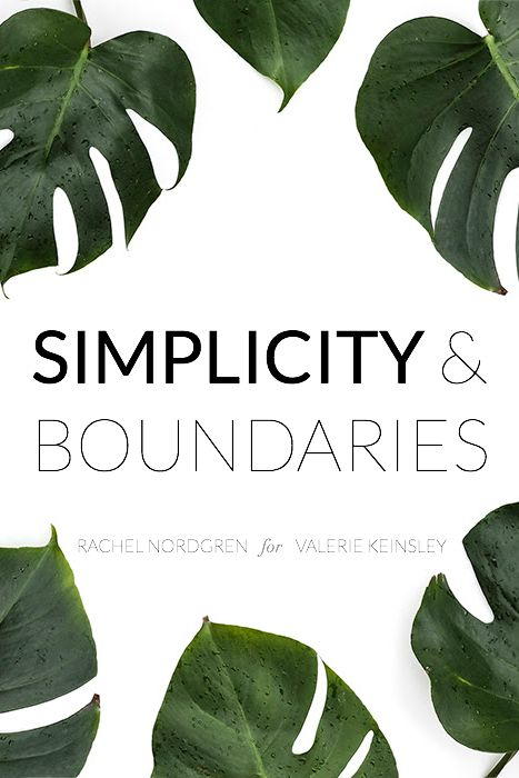 Simplicity and Boundaries