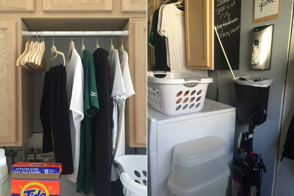 Maximizing A Tiny Laundry Room Valeriekeinsley
