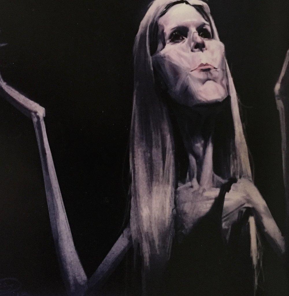 """Artwork: """"LichQueen"""" by Chris Sears, chris.sears.art@gmail.com."""