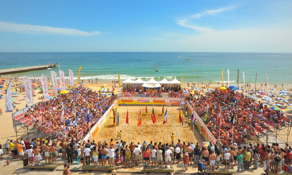 Footvolley World Challenge  in Albufeira, 2009.