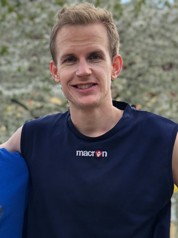 Footvolley player Alexander Mørland Karlsen representing Norway
