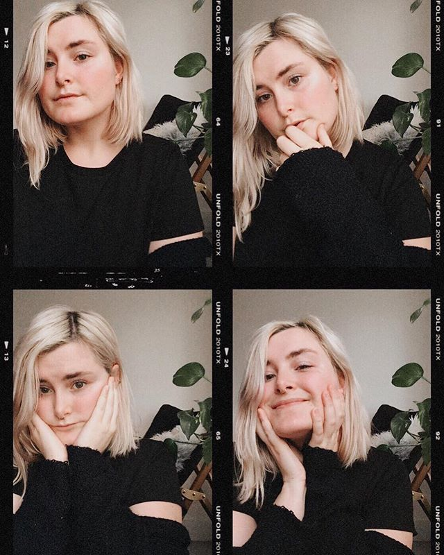 ᵘʰʰʰʰ my hair is fallin out so I gotta document my platinum blonde alter-ego while I still have the chance :)