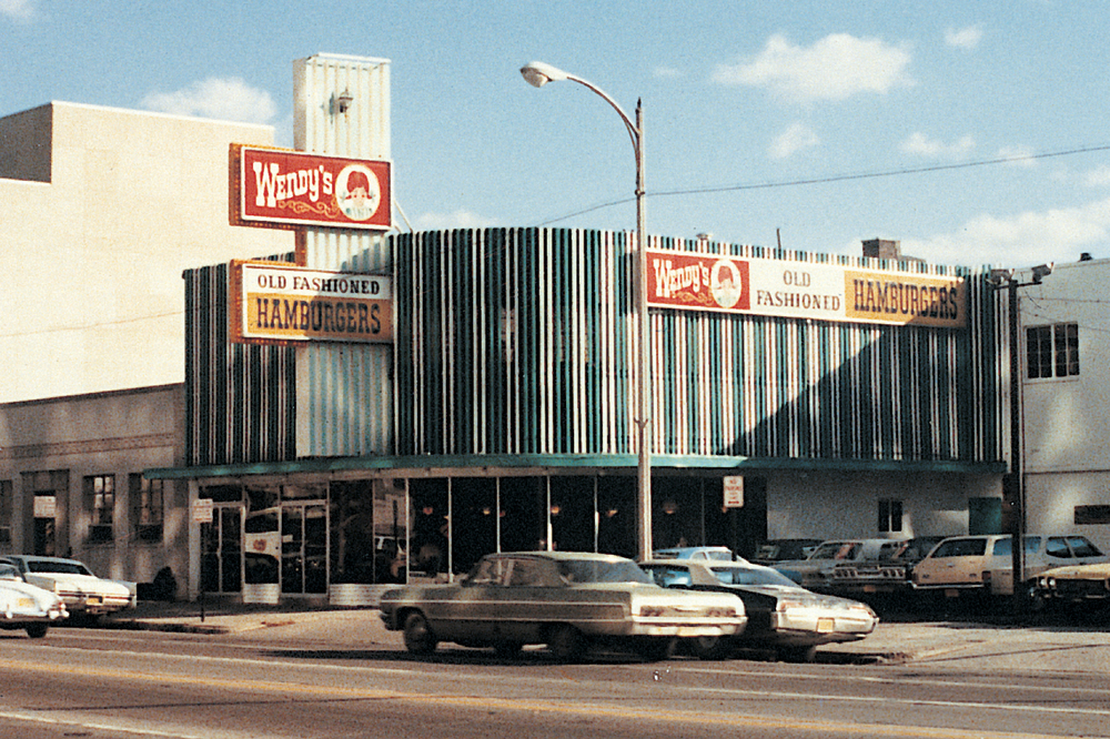 THE FIRST WENDY'S RESTAURANT IN COLUMBUS, OHO (256 BROAD STREET)