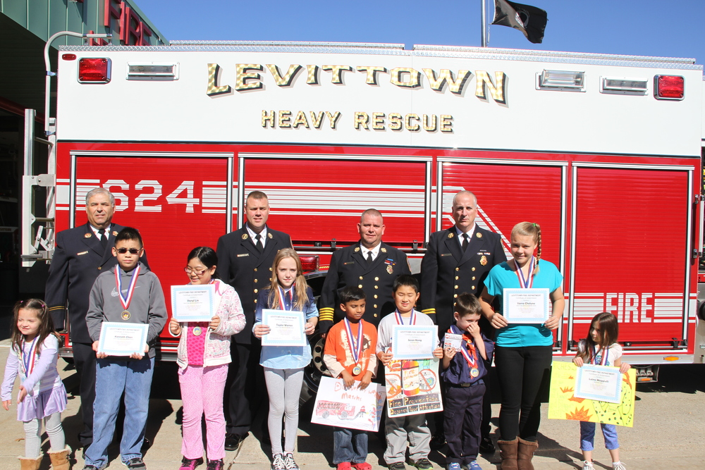 Jimmy Behrens with the Levittown Fire Department.