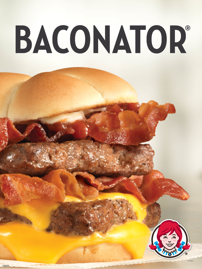 PHOTO FROM OUR 2016 BACONATOR AD CAMPAIGN