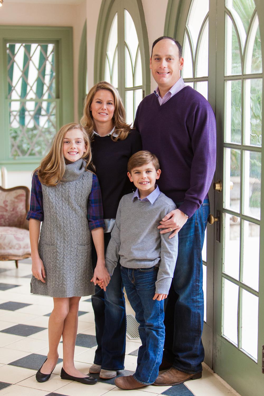 Kurt and christine kane with their children