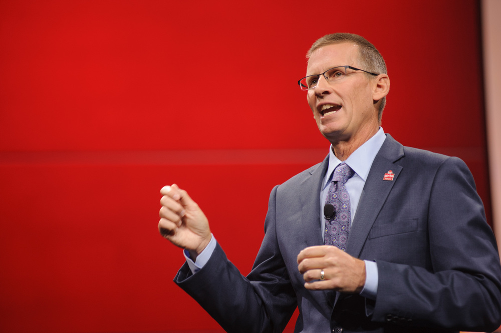 The wendy's company president & ceo Todd Penegor