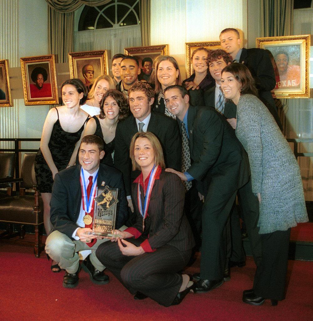 Wendy's Heisman National Winners from 1994 - 2002