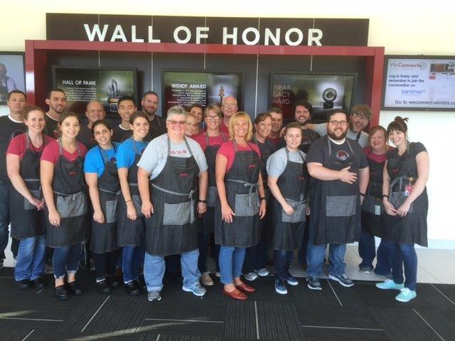 Meet the wendy's culinary team!