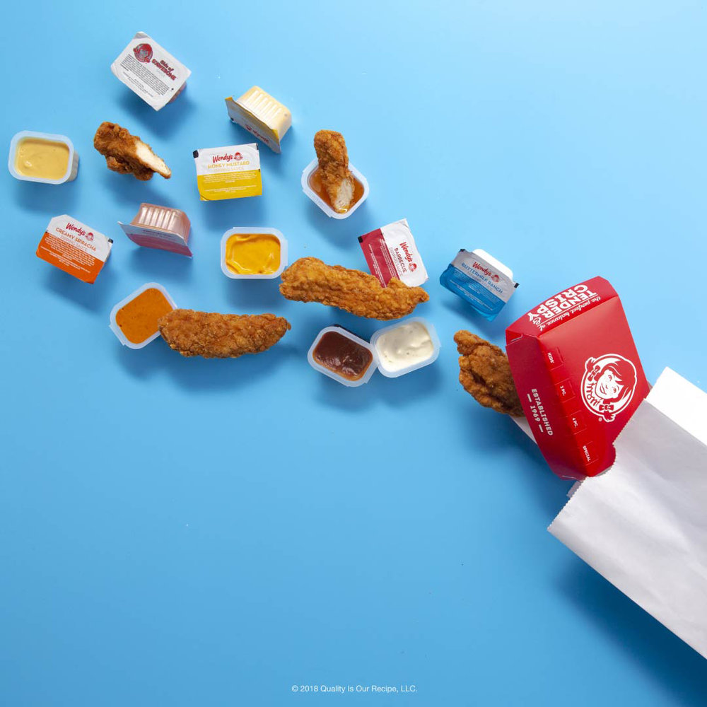 Wendy's chicken tenders are the real deal, but there's nothing wrong with adding a little sauce. The variety of Wendy's dipping sauces has you covered no matter your preference.
